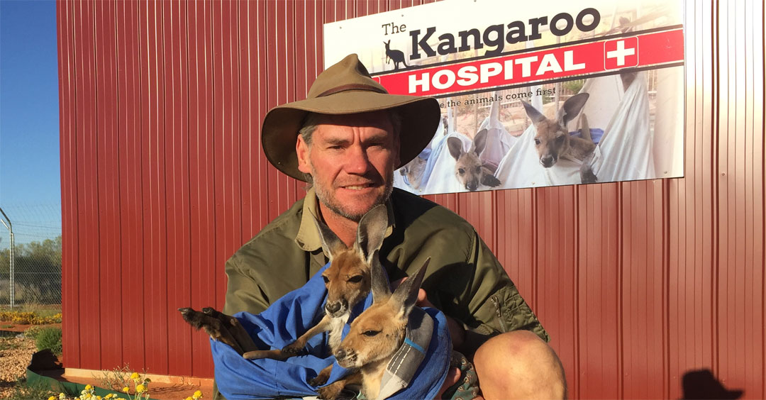 The Kangaroo Sanctuary FAQ by Brolga in Alice Springs